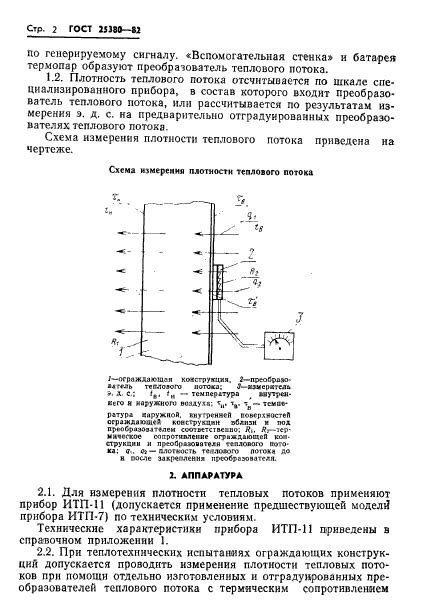 Измерение плотности тепловых потоков