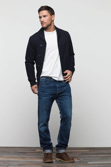 Clean. | Menu0026#39;s Casual Outfits | Pinterest | Style Rolled jeans and Brown shoe