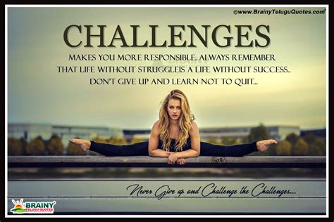 Life Challenging Quotes In English-being Success Sayings
