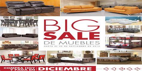 big sale ofertas de muebles en almacenes siman septiembre