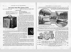 Cameras, Photographic Supplies, Sears, Roebuck & Co, 1909