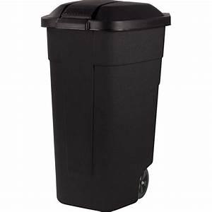 Poubelle Exterieur Leroy Merlin : poubelle de rue 110 l x x cm leroy merlin ~ Melissatoandfro.com Idées de Décoration