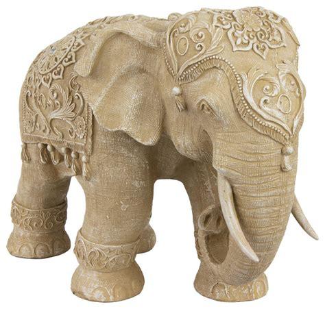 ivory elephant statue traditional home decor