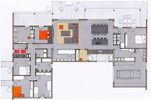 plan de maison plain pied 200m2 With plan de maison 200m2