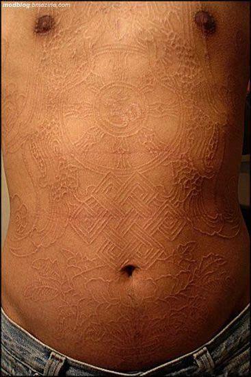 scarification  body art xcitefunnet