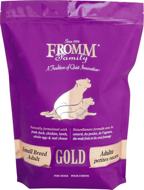 fromm gold holistic small breed adult dry dog food lb