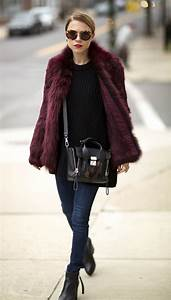 Picture Of super chic short fur coat outfits to feel warm in winter 18