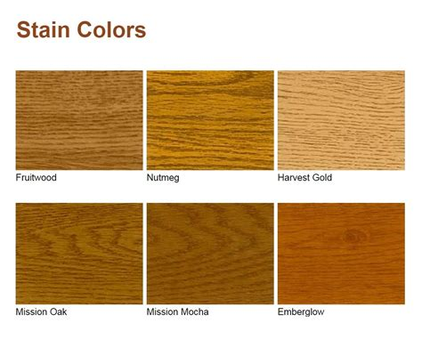 wood color chart wood finishes and glazing reface njreface nj