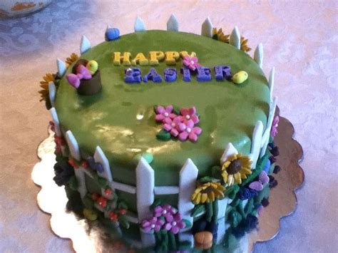 Garden Decoration For Cake by Decorating Ideas For Easter Cakes Slideshow