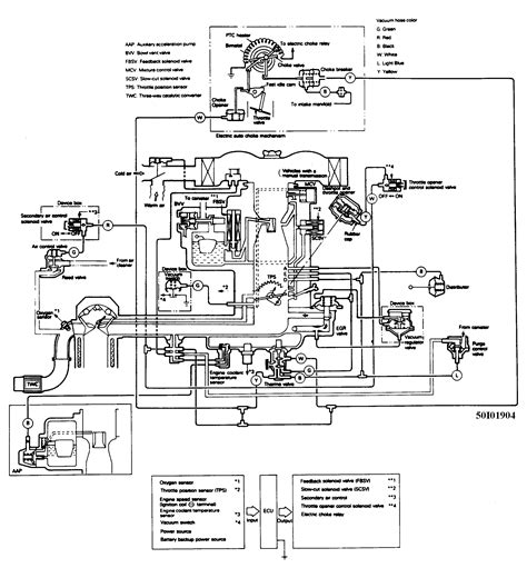 1987 Dodge Ram 50 Wiring Diagram by Need The Vacuum Hose Diagram For Carb 88 Dodge Ram 50