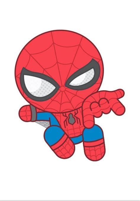 pin  myranda schlaman  marvel spiderman cute