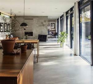 prix dun sol en beton cire 2018 travauxcom With porte d entrée pvc avec salle de bain beton cire prix
