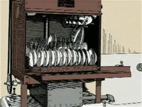 who invented the kitchen sink clumsy servants inspired dishwasher invention 171 appliances 1886