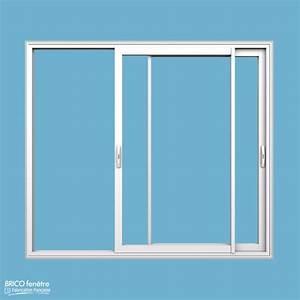 Baie Vitrée Coulissante Alu : baie vitree standard elegant baie vitree standard with ~ Dailycaller-alerts.com Idées de Décoration