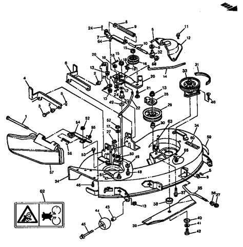 John Deere Lawn Tractor Parts Diagram Bloggerluv