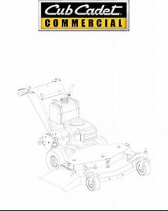 Cub Cadet Lawn Mower G1336 User Guide