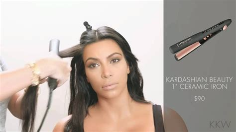 Kardashian Beauty Hair 1 Inch Flat Iron With Kim