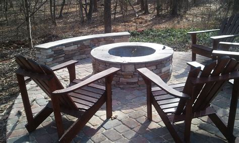 Charlotte Outdoor Fire Pits, Charlotte Outdoor Fireplace