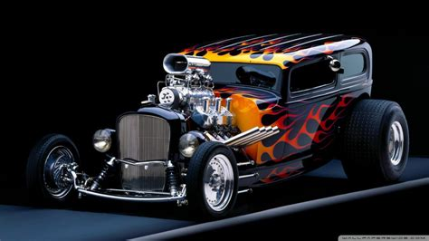 Hot Rod 4k Hd Desktop Wallpaper For 4k Ultra Hd Tv