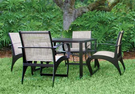 siesta key set 4 chairs table
