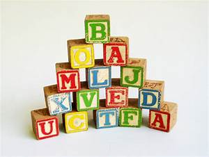 alphabet blocks wooden toy blocks children wooden by With toy letter blocks