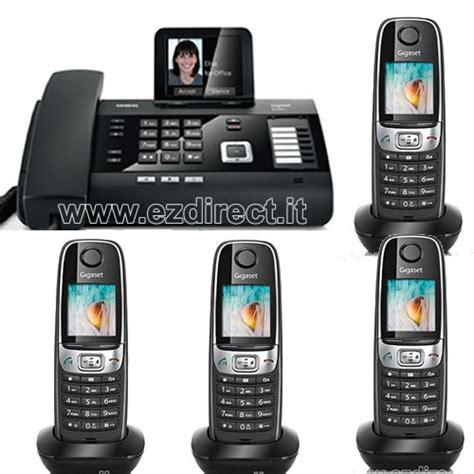 Messaggio Segreteria Telefonica Ufficio - centralino fisso con cordless bluetooth portatili e