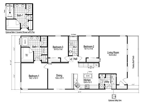 home floor plans wilmington manufactured home floor plan or modular floor plans