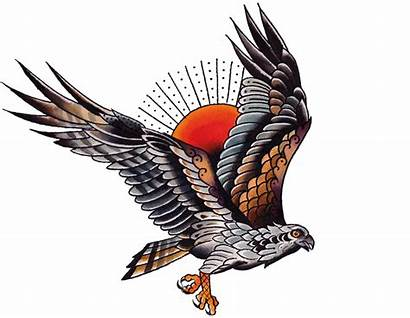 Osprey Tattoo Tattoos Falcon Designs Tattoodaze Catching