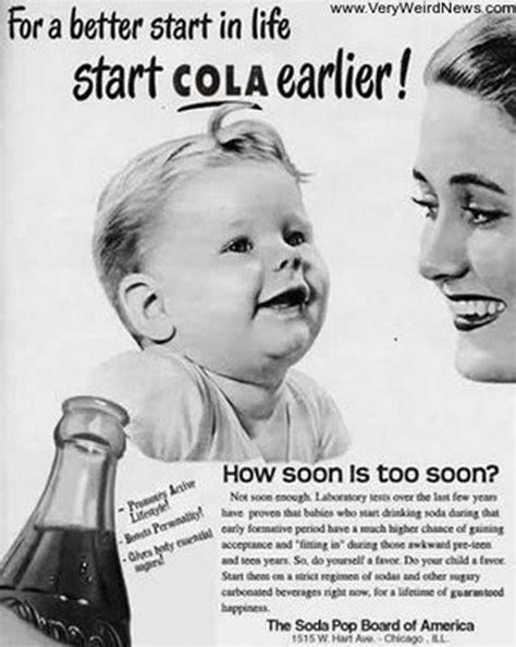 these 11 vintage ads using babies to sell harmful items will shock you indiatimes