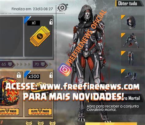 PASSE DE ELITE DE JUNHO COMPLETO - Free Fire News   Você ...