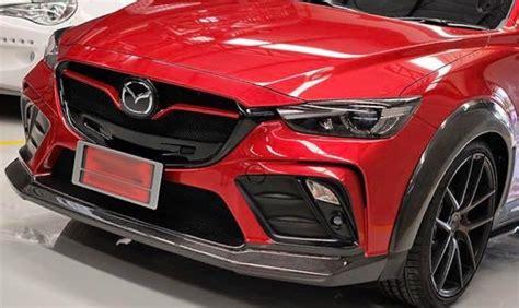 Mazda Cx3 Modification by Schickes Sports Widebody Kit Am Mazda Cx 3 Suv