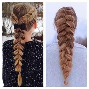 Coiffure Tresse Facile Cheveux Mi Long : coiffure tresse facile pour femme et fille ~ Melissatoandfro.com Idées de Décoration
