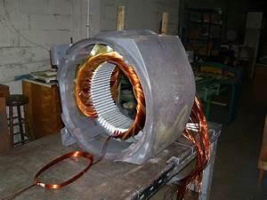 Three Phase Motor Rewinding