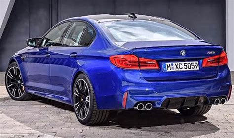 New Bmw M5 2018 Leaked Pictures Reveal Car's Design Ahead