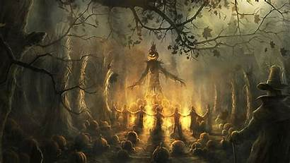 Halloween Scary Backgrounds Wallpapers Spooky Background Cool