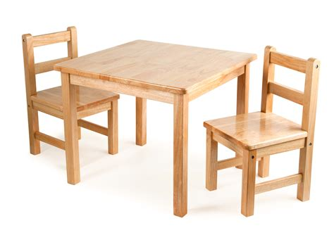 classic wooden table 2 chairs for children in s a