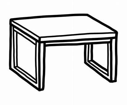 Vector Desk Table Illustrations Clip Empty Similar