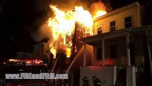 Fatal House Fire - Pottsville  Pa - 05  12  2013