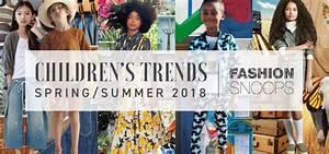 Children's Spring / Summer 2018 Trend Direction Provided