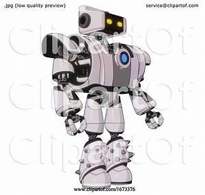 Bot Containing Dual Retro Camera Head And Retro Tech