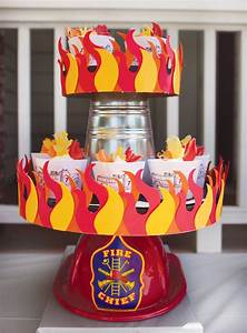 {Super Amazing} Fire Truck Birthday Party// Hostess with