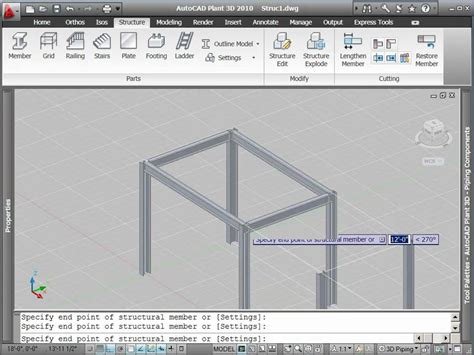 1 angle iron autocad plant 3d tutorial how to create structural