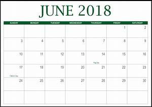 Junho 2018 Calendário Português Feriados modelo imprimível