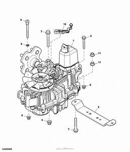 John Deere 425 54 Mower Deck Parts Diagram