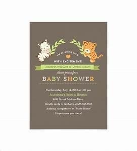 Baby Boy Card Design 35 Baby Shower Card Designs Templates Word Pdf Psd