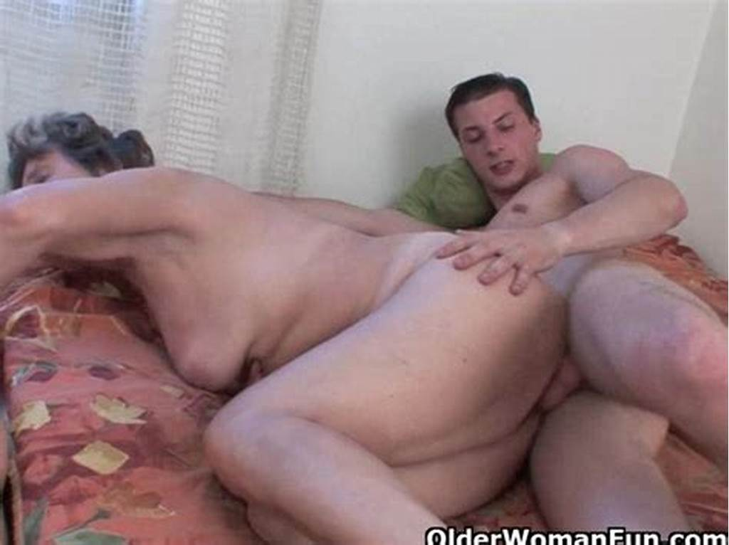 #Lustful #Granny #Gets #Her #Hairy #Asshole #Fucked