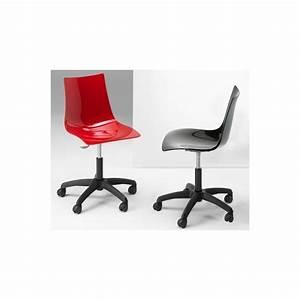Chaise A Roulette : chaise design a roulette zeus par scab ~ Teatrodelosmanantiales.com Idées de Décoration