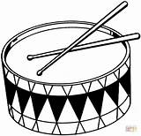 Drums Coloring Printable Pages Clipartmag sketch template