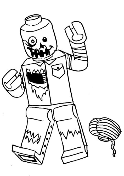 zombie coloring pages books    printable