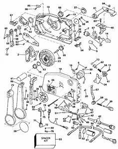 Evinrude Remote Control Parts For 1990 40hp E40elesr